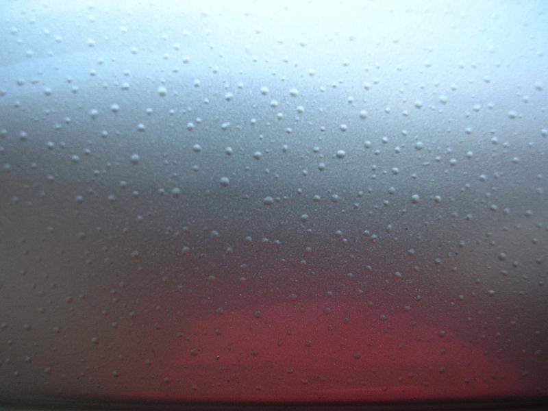 Water Bubbles Under Paint On Car