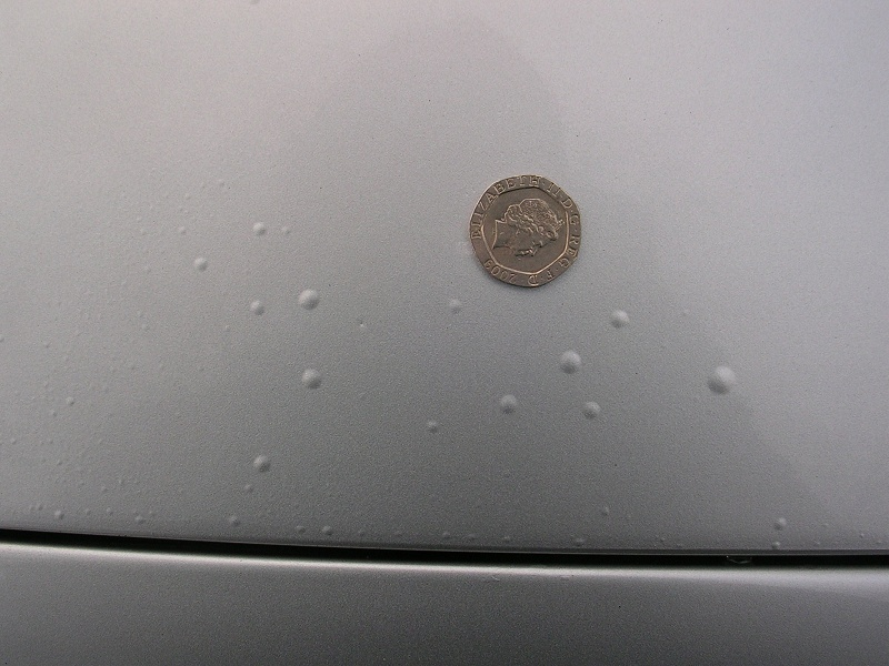 Car Paint Micro Blistering